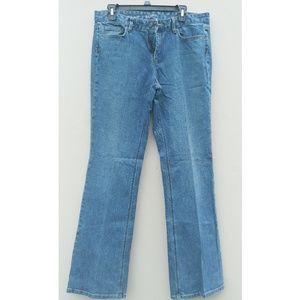 LOFT bootcut jeans size 12